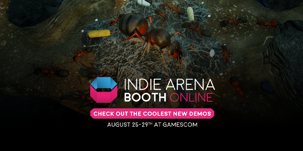 Empires of the Undergrowth Selected For Indie Arena Booth Online